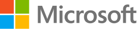 Microsoft fully colourised logo